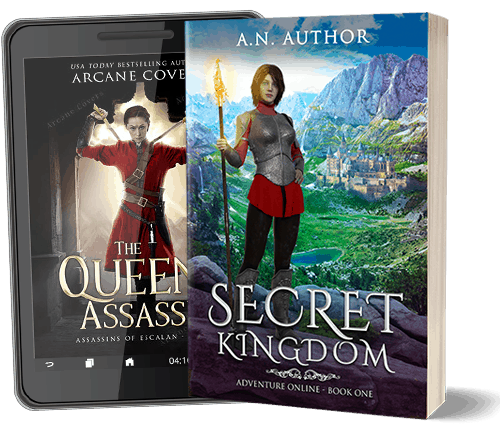 Epic Fantasy book covers
