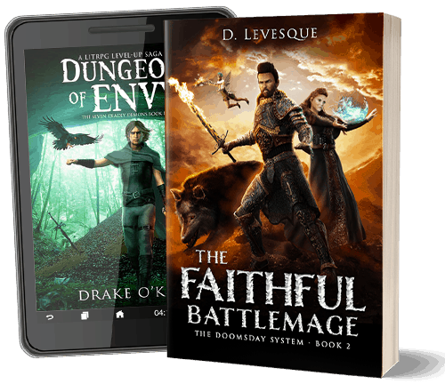 LitRPG book covers