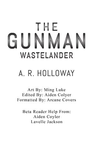 The Gunman Wastelander Custom Title Page